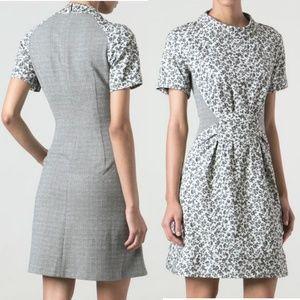 Thakoon AdditionSide Panel Floral Print Dress